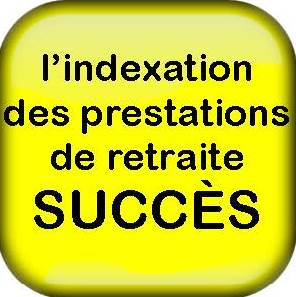 Success Yellow Button French